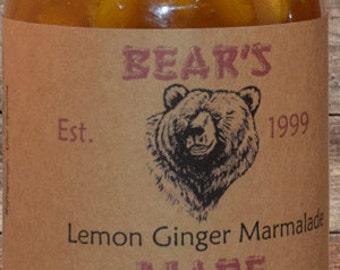 Organic Lemon Ginger Marmalade