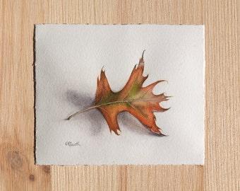 Original Leaf Watercolor Painting (Leaf Two)