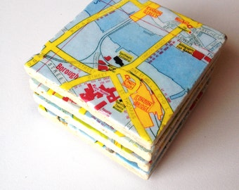 London Map Coasters
