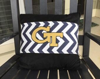 Georgia Tech Pillow wrap