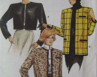 VINTAGE Vogue Pattern 9442 Misses' Jacket