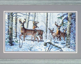 Woodland Winter Counted Cross Stitch Kit