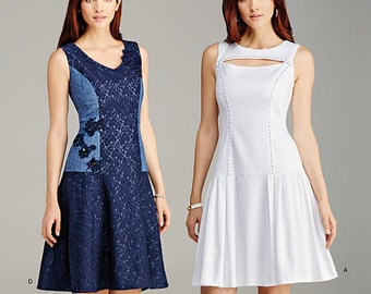 OUT of PRINT Simplicity Pattern 1103 Misses' Dress with Bodice and Skirt Variations
