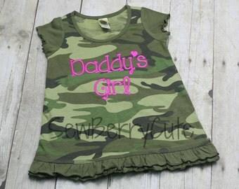 Camo Daddy's Girl Dress Camo Dress Daddy's Girl Dress