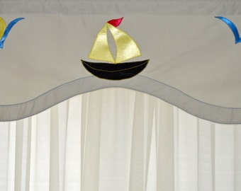 Decorative Valence for Child's Bedroom