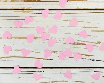 heart confetti rose