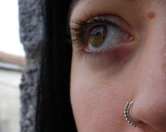 P2A Nose piercing siver