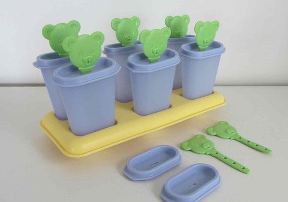 Tupperware Ice Pop Teddy Bear Popsicle Mold Teddy Bear