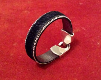 Great quality leather bracelet FEVER by KREATURE bijoux