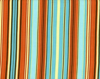 Blue Oxford Stripe