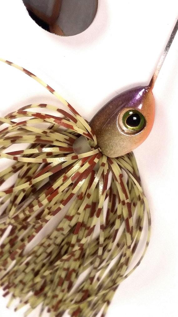 Handmade spinner baits by HUNYHOLE BAITS. ( Susky Craw)
