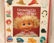 Growing Up with Cricket Book for Cricket Dolls