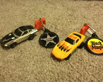 Vintage Kidco Key launch Cars with keys 1980