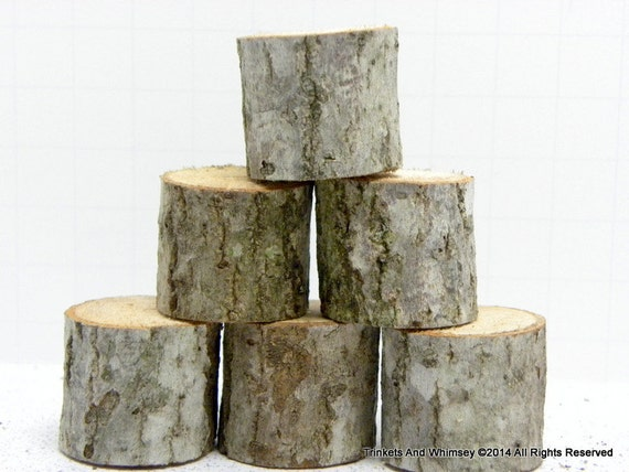 Wood Pieces For Crafts ~ Items similar to wood pieces miniature tree stump