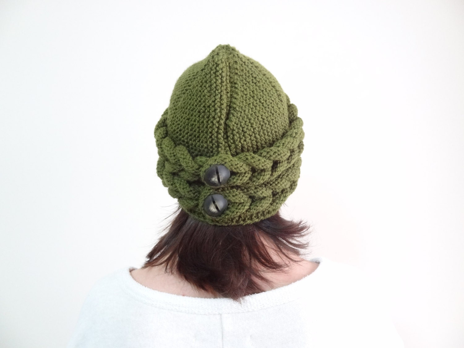 Olive Green Hat Beanie Winter Beanie Winter Accessories