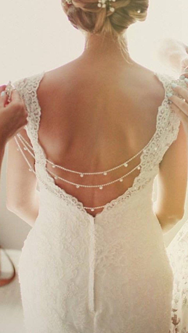 bridal back chain bridal back necklace backdrop bridal