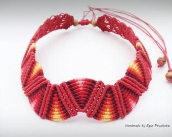 Handmade Statement Choker Necklace, Jewelry