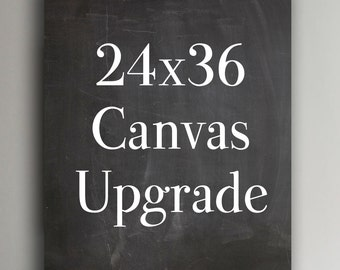 24x36 Canvas Upgrade from a Poster