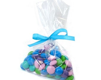 Clear Polypropylene 'Cellophane' Favor Treat Candy Bags 4 x 6""