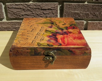 Upcycled Cigar Box