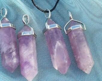 Amethyst handmade pendant *brazillian crystals*