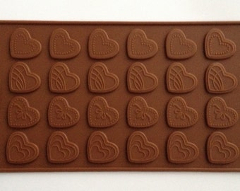 Heart cake chocolate mold cupcake cake silicone baking candy decorating mould truffle baking supplies tools