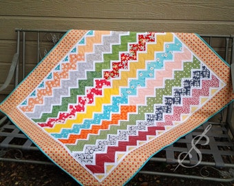 Country Roads: A Chevron Quilt Pattern