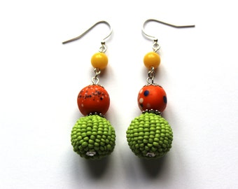 Bright and Cheerful Earrings