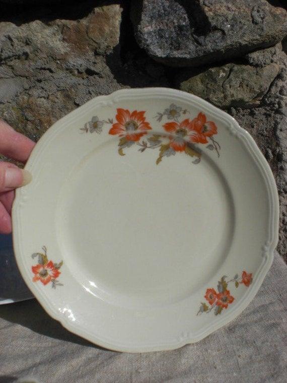 antique mitterteich bavaria porzellan porcelain plate. Black Bedroom Furniture Sets. Home Design Ideas