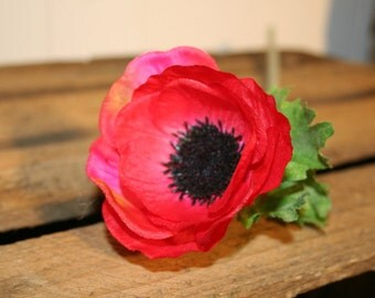 Red Artificial Anemone