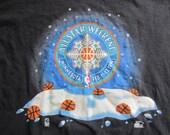 Vintage 1994 Minnesota NBA All Star Weekend T Shirt Starter XL