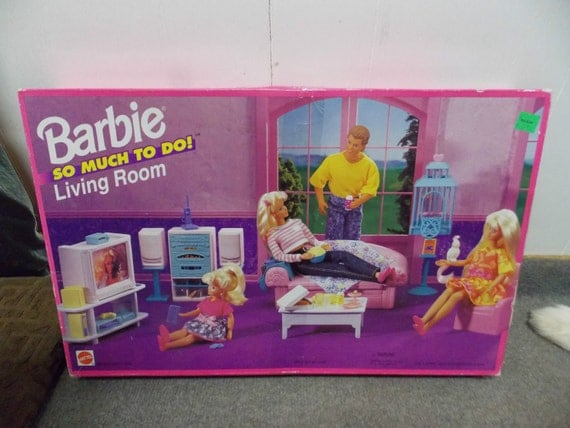 barbie living room so much to do living room playset by 10758