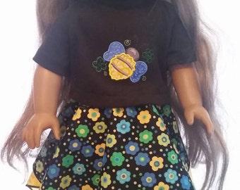"18"" Doll Bandana Skirt"