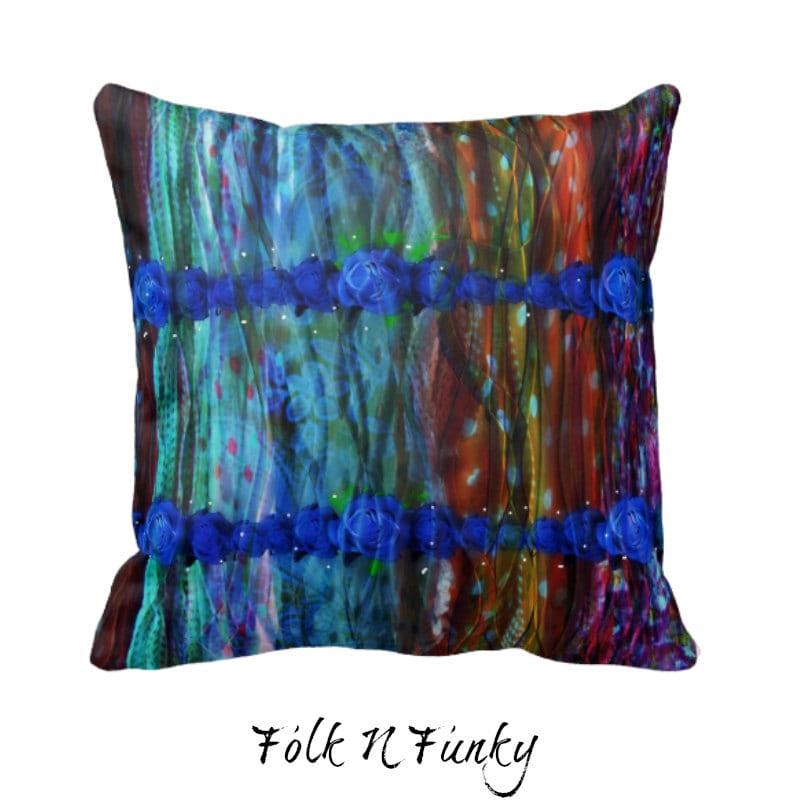 Boho Chic Throw Pillow Decorative Throw Pillows