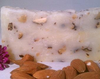All Almond Soap 100% ORGANIC & VEGAN 1, 6, or 12 Packs avail Handmade