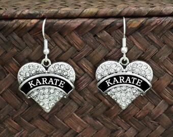 Karate Earrings - 54936