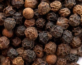 Applewood Smoked Black Peppercorns - Certified Organic