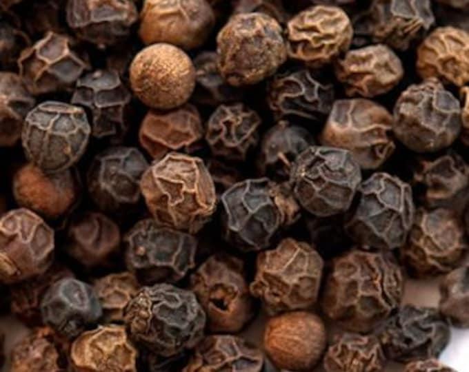Applewood Smoked Black Peppercorns - Certified Organic