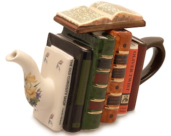 Classic Authors Teapot