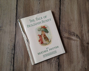 The Tale of Benjamin Bunny Vintage Children's Book | Beatrix Potter | Nursery Classic | Series | Collection of Books Peter Rabbit