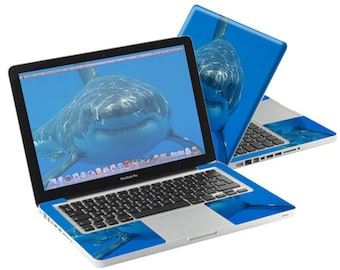 Shark Macbook Decal Etsy