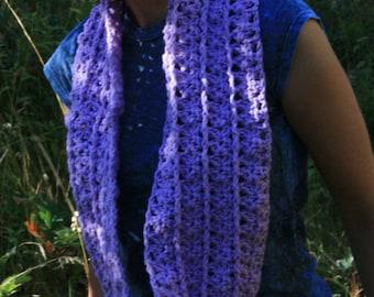 lavender Shells Cowl