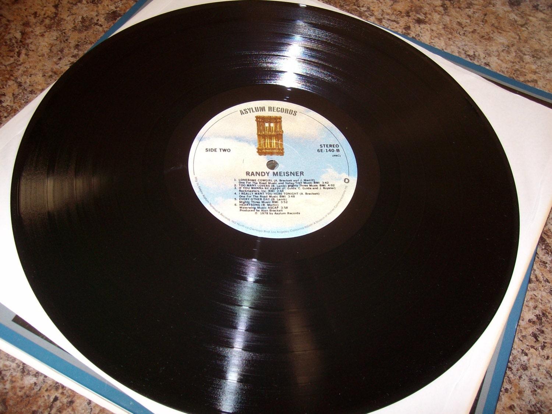 Randy Meisner Solo Vinyl Record Album 1978 Priority Shipping