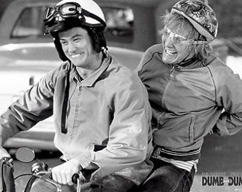 Dumb And Dumber Poster Jim Carry Jeff Daniels Poster 24 x 36
