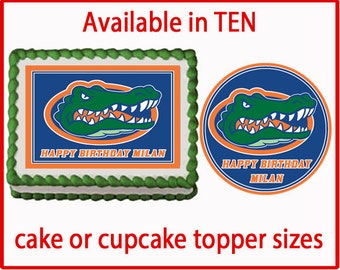 Florida Gators Wedding Cake Topper Alligator By