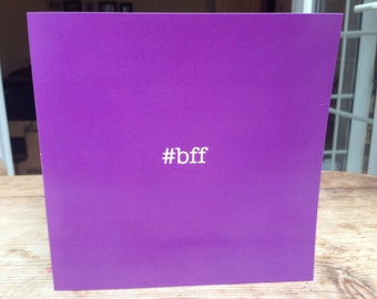 BFF Greeting card