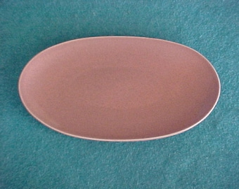 Russel Wright American Modern Steubenville Coral Tray Underplate