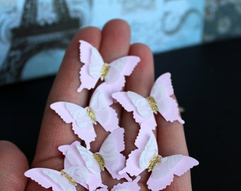 Set of Layered BUTTERFLIES Wedding Table Decoration /Bridal Shower /Party Decoration/Baby Showers