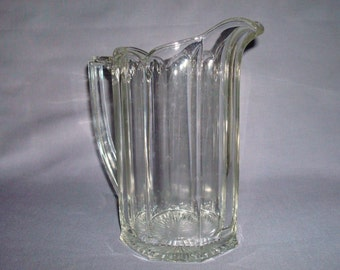 Fabulous Heisey Colonial Clear Water Pitcher,