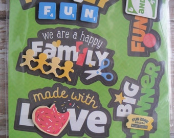 Family Fun Stickers by Imaginisce